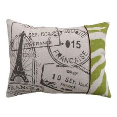 Stamps Pillow - could make your own!