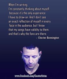 Linkin Park Chester Bennington quote ❤ It