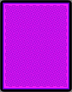 Crochet Pattern - Optical Illusion 20 - Purple & Pink by Hookintothebeat - £6.00