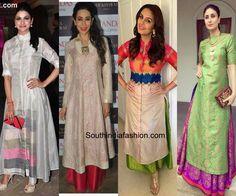 reuse old sarees to create kurta 600x500 photo