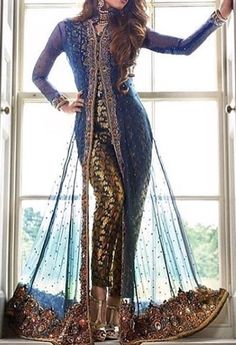 email sajsacouture for this special piece Pakistani Outfits, Indian Outfits, Indian Clothes, Indian Attire, Indian Wear, Asian Fashion, India Fashion, Stylish Dresses, Fashion Dresses