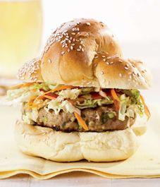 Recipe: Green onion pork burgers