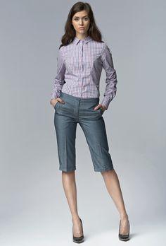 Nife SD18 Spodnie bermudy -  jeans