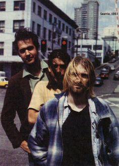 NIRVANA, 8/10/93, Seattle