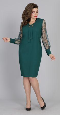 Women& dress in emerald green color Elegant women& dress. Elegant dress for the celebration. A stylish image of women for . Latest African Fashion Dresses, Women's Fashion Dresses, Dress Outfits, Casual Dresses, Short Dresses, Plus Size Dresses, Plus Size Outfits, African Attire, Classy Dress