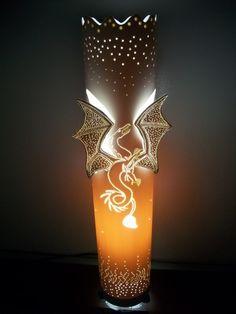 Оригинальный и очень эффективный светильник из водопроводной трубы.