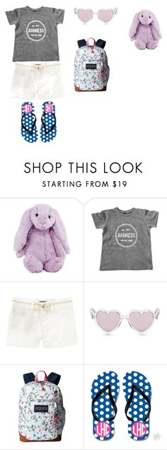 """""""Kids Girl"""" by taylajane07 ❤ liked on Polyvore featuring Jellycat, Sons + Daughters and JanSport"""