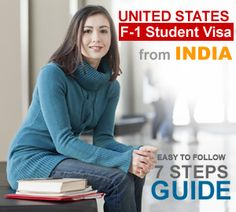 7 Steps Guide to F-1 Study Abroad Visa To United States From India | Immigration & Visa Guides #Studyabroad #India #USA