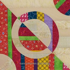 Free Quilt Pattern: Quilt Extravaganza:Block of the Month 12