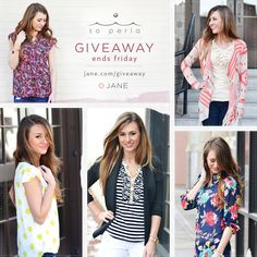 I just entered this great giveaway from Jane.com and So Perla! Re-pin to WIN!