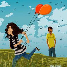 happy ballons