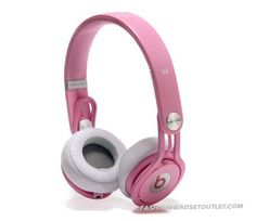 Beats By Dre Mixr Headphones (Light Pink)~~~^_^~~~