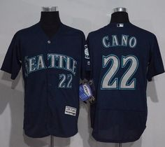 4a72c1bff50  Mariners  22  Robinson  Cano  Navy Blue  Flexbase Authentic Collection   StitchedMLBJersey. luckyjerseys. News · MLB Jersey · Astros Blank White New  ...