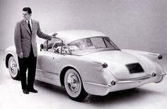 Chevrolet Corvette Convertible Coupe, 1954