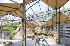 Temporary Workshop & Recreation Centre of Qianyi Farm / Big Smallness Studio + Wuhan ADAP Architects
