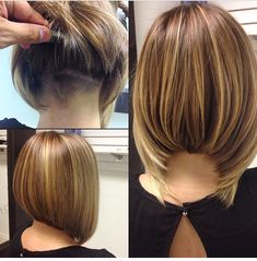 Bob Hair Cuts - Neueste Frisuren, Frisuren, Haar Modelle - The most beautiful hairstyles Angled Bob Hairstyles, Wedge Hairstyles, Cool Hairstyles, Latest Hairstyles, Undercut Hairstyles, Beautiful Hairstyles, Celebrity Hairstyles, Wedding Hairstyles, Bob Haircuts For Women