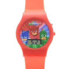 Officially Licensed Kids LCD Wrist Watch Digital Style Adjustable Strap (Many Characters). Learn To Tell Time, Kids Birthday Gifts, Best Savings, Mask For Kids, Masks Kids, Pj Mask, Girls Wardrobe, Christmas Gifts For Kids, Digital Watch