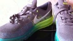 14e3381a9bde Nike Flyknit Air Max Light Charcoal Sail Volt Glacier Ice Review
