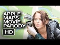 Apple Maps Hunger Games Parody. They should've had iPhones in the movie and had all the tributes get misdirected so they could get killed.