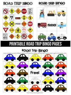 Have a road trip coming up? Use these cute Road Trip BINGO printables for your kids to make the trip a little more fun!
