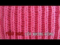 Hướng dẫn mẫu đan: Cốt Xương Rồng | Cốt nổi gân | Cốt sai - YouTube