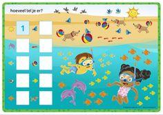 Rompompom | Magnetische rekendoos | Werkblad 'hoeveel tel je' | Rekenen | Zwijsen Homeschool, Projects, Character, Art, Log Projects, Art Background, Kunst, Homeschooling, Art Education