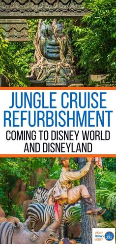 Disney has just announced big changes coming to one of its classic rides as a Jungle Cruise refurbishment is planned for the Walt Disney World and Disneyland versions of the attraction. Read details and learn plans in this post from Ziggy Knows Disney.
