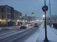 Niles, Michigan home of Barron Lake. Beautiful & quaint in the winter.
