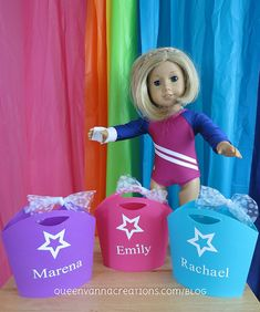 American Girl Party Totes