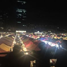 TRAIN NIGHT MARKET 😍 in Bangkok is a must see! Amazing food, cheap shopping, great people watching, plenty of Thai beer, and a guaranteed fun time. Places In Bangkok, Cheap Shopping, Fun Time, Good Times, Times Square, Thailand, Beer, Train, Culture