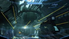 Halo 4 Screenshot Get more games you want for less Composition Techniques, New Halo, Art Of Glass, First Person Shooter, Futuristic Architecture, Mass Effect, Game Art, Art History, Microsoft