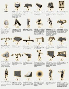obstacle course obstacles ideas - Google Search