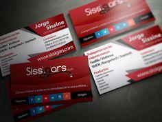 Cliente: Sissigars / Tarjetas de presentación / Propiedad Idea Digital / 2014 / #tarjetas #tarjeta  #bussinescard #card #diseño #diseñográfico #design #graphicdesign #Ventas #creative #art #business #marketing #ideadigital Visítanos en: www.ideadigital.com.ve