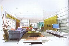 interior hand rendering - Google Search