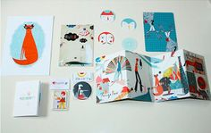 Tea & Crayons Illustration Collective: Self-promotion Ideas and Inspiration