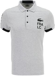 e4ffd13f7af Lacoste Polo droit logotypé en coton piqué
