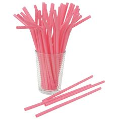 Hot Pink Designer Flex Straws Wholesale Party Supplies and Bulk Party Supplies from Party Supply Direct Orange Plates, Christmas Tea Party, Pink Lemonade Party, Wholesale Party Supplies, Pink Plastic, Colorful Party, Perfect Pink, Pink Parties, Get The Party Started