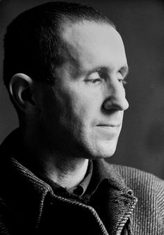 Bertolt Brecht (1898-1956) - German  poet, playwright, and theatre director - Photo by Fred Stein, 1935
