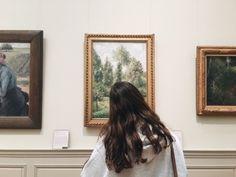 take me to an art museum, kiss me between the paintings Tableaux Vivants, Art Hoe, Ulzzang Girl, Oeuvre D'art, Art Museum, Portrait, Art Gallery, Instagram, Artsy