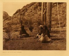 Qahatika Papago women - 1907