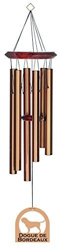 Chimes  Chimesofyourlife E6122 Wind Chime,  Dogue De Bordeaux/Bronze,  27-Inch Porch Makeover <3 This is an Amazon Associate's Pin. Click the image to view the details from the website.