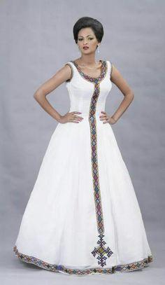 Beautiful Ethiopian Dress I love it