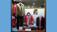 Escaparate de hombre en MARIETA con prendas de #geox #chevignon #tittobluni #elcaballo ...
