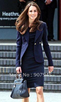 Kate Middleton Suit Women's Business Suit Fashion Ladies' Coat