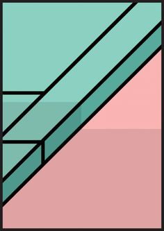 color | pink + green - Town Planning by Peter Judson