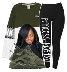 """""""*PINK Set <3"""" by princess-kia54321 ❤ liked on Polyvore featuring NIKE"""