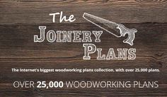 Hundreds of new award-winning woodworking plans are added to The Joinery Plans' library each month! We collected 25,000 so far, check them out!