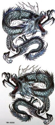 GGSELL YiMei Waterproof sexy totem painted dragon tattoo sticker by YiMei. $3.69. Made and sold by GGSELL--Ship form USA, the only authorized online distributor in the US. Our temporary tattoos are certified by F.D.A, EN71, ASTM, safe and non-toxic. Use parts: Can be used in the skin, metal pottery, glass and other surfaces. Attached to the waist, chest, neck, arms, back, legs, bikini, paste any position you like, you can also cover scars, etc.. Instructions: 1) Skin should be cl...
