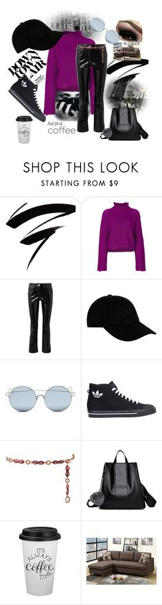 """""""Apartment Hunting"""" by gigi-sessions ❤ liked on Polyvore featuring Golden Goose, Helmut Lang, STONE ISLAND, For Art's Sake, adidas and Gucci"""