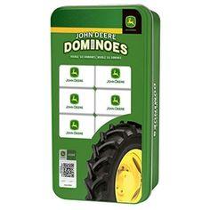 John Deere Double 6 Dominoes | WeGotGreen.com